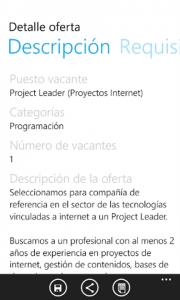 Infojobs, encuentra trabajo con tu WP