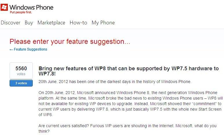 uservoice wp7.8