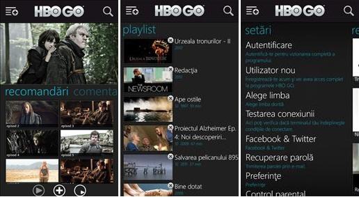 HBO Go aparece en Windows Phone pero solo para Rumanía