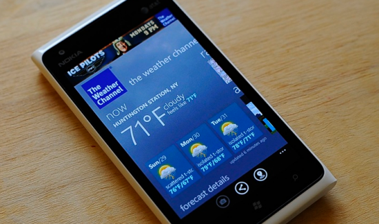 Nokia Weather App