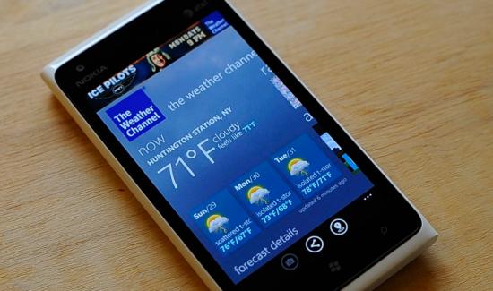 Nokia Weather App