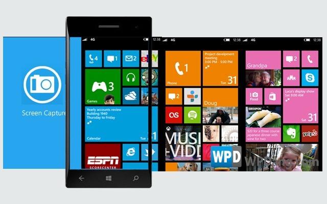 WP8 tendrá captura de pantalla nativo.