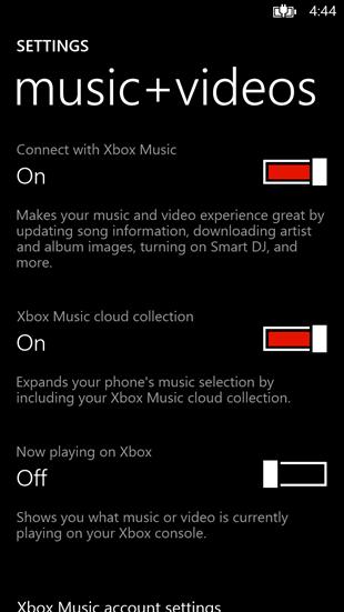 Servicio de música streaming de Microsoft