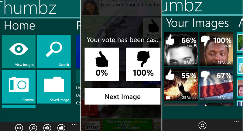 Thumbz, nueva aplicación para compartir fotos