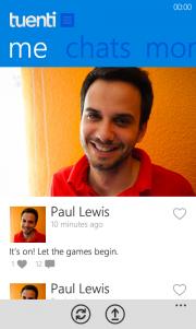 Tuenti para Windows Phone, primeras imágenes y comparativa de la aplicación