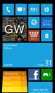 W Phone 8, la aplicación que te permite simular la pantalla de inicio WP8