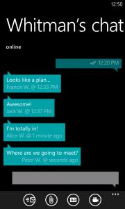 WhatsApp para Windows Phone 8, primeras imagenes