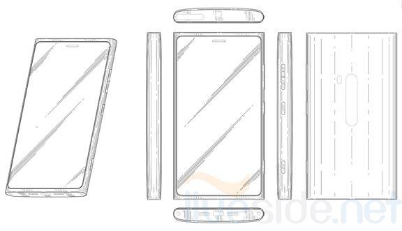 Diseño de los futuros Nokia Lumia revelado por la Patente
