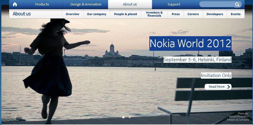 Nokia presentará sus nuevos WP8 en el Nokia World 2012