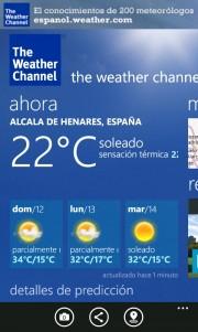 The Weather Channel se lanza a mas países, entre ellos España