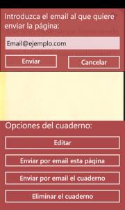 Cuartilla, nueva aplicación de notas para windows phone