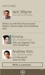 Family story, nueva aplicación exclusiva Samsung