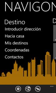 Navigon se actualiza, agregando estado del tráfico, integración con Bing y FreshMaps