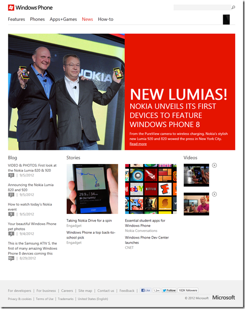 News Windows Phone