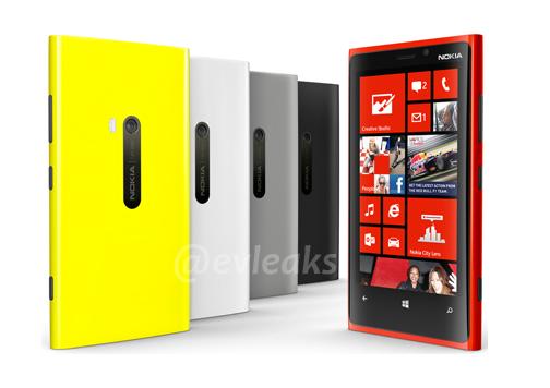 Colores Nokia Lumia 920