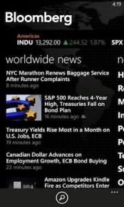 Aplicación Bloomberg llegará en exclusiva para Nokia