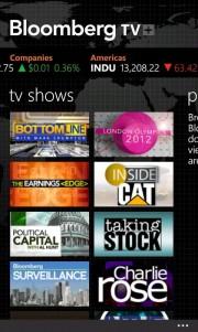 Bloomberg ya disponible para Nokia Lumia