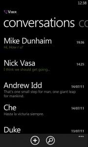 Viber se actualiza y ahora es Viber Messenger