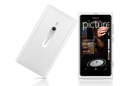 lumia 800 white