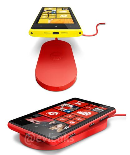 Nokia WP8 con carga inalambrica