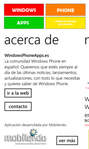 WindowsPhoneApps ya esta en la Windows Phone Store