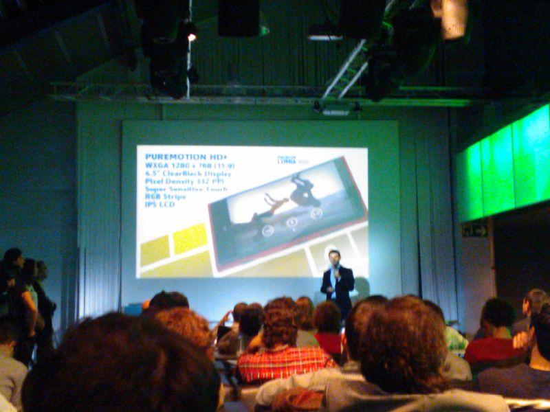 Windows Phone 8, presentación en directo