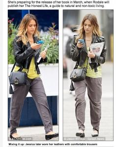 Jessica Alba y Nokia Lumia 900