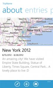 Trip Memories, una aplicación para recordar tus viajes