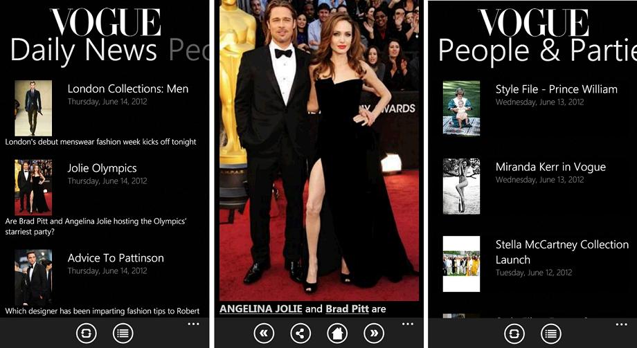 Benetton y Vogue ya tienen sus aplicaciones para WP