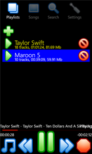 Winamp disponible para Windows Phone