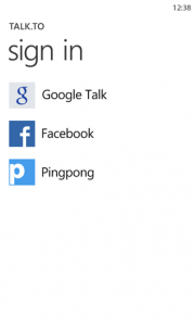 Talk.to ya disponible para Windows Phone
