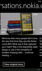 Nokia Xpress Beta se actualiza