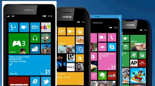 Lumia windows phone 7.8