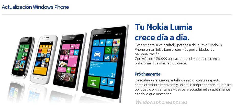 Nokia confirma WP7.8 para todos los Lumia 7.X