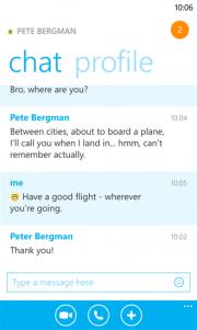 Skype para Windows Phone 8 ya dispone de una versión preliminar