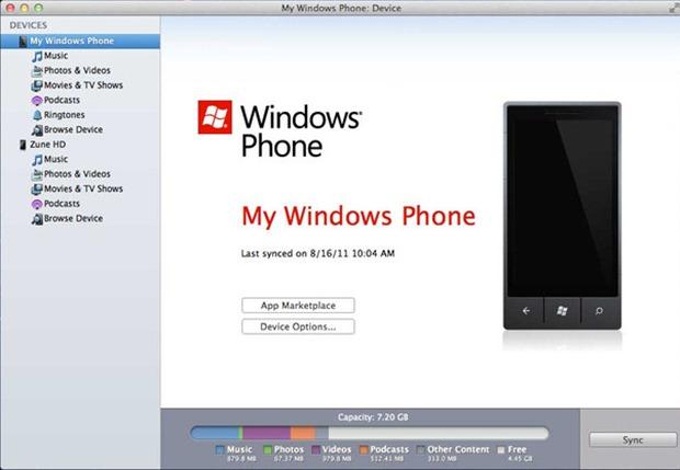 Windows Phone companion para Mac se actualiza con soporte WP8