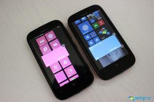 Pantalla de inicio Windows Phone 7.8