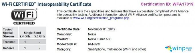 Nokia Lumia 505 en exclusiva para Telcel
