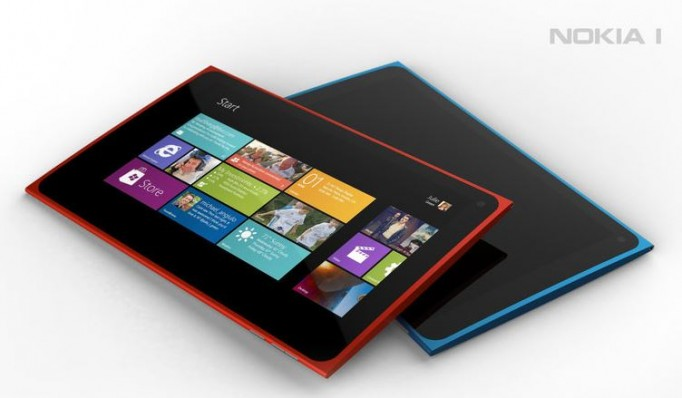 Tablet Nokia Windows 8 RT