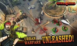 Guns 4 Hire, dirige a tus mercenarios desde tu WP8