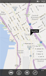 Maps para Windows Phone 8