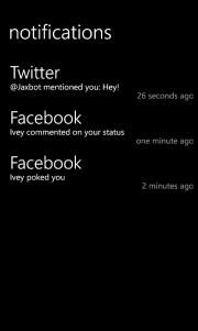 Notifications, el centro de notificaciones para Windows Phone 7.X