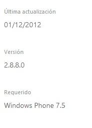 WhatsApp recibe actualización 2.8.8 - Actualizado