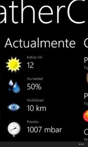 WeatherCare, te ayuda a mejorar tu estilo de vida