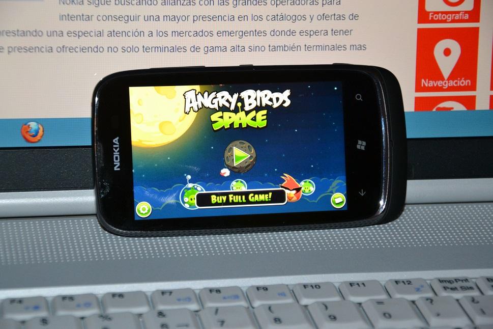 Angry Birds Lumia 610