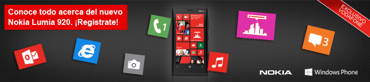 Nokia Lumia 920 con Vodafone
