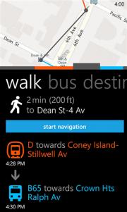 HERE Transit la cuarta aplicación WP8 de Nokia bajo el nombre HERE