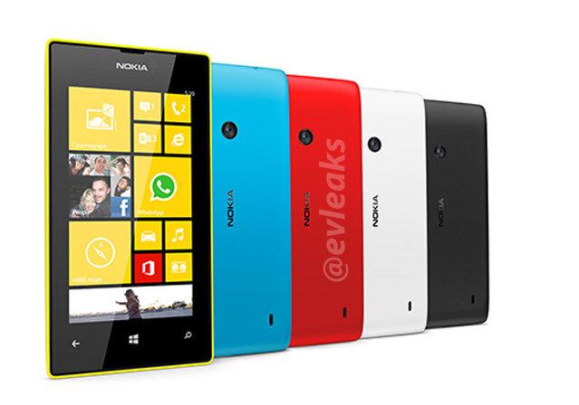 Lumia 520 trasera