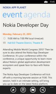 Nokia MWC 2013, aplicación exclusiva para Nokia WP8