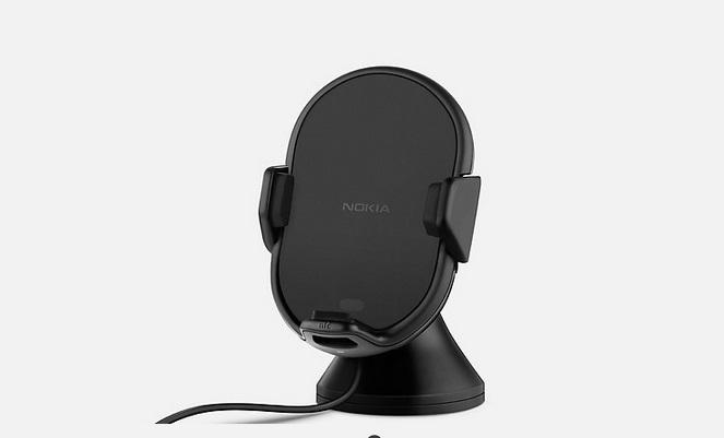 Soporte-de-carga-inalambrica-Nokia-para-coche